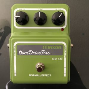 Setting an Overdrive up for Rhythm Guitar Tones