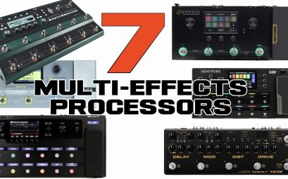 The Best 7 Multi-Effects Processor Pedals