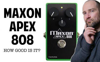 Maxon Apex 808 Review